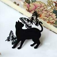 Butterfly Cat Metal Cutting Dies Stencil Scrapbooking Card Stamp Paper DIY C4P6