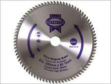 Faithfull - Circular Saw Blade 250 x 16/25/30mm x 80T Zero Degree