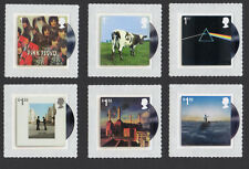 2016 PINK FLOYD Stamp Set of Six Mint SG 3849 - 3854