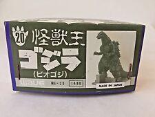 Godzilla 1989 Diorama Set Metal Figurine by Wave #20 (Rare Vintage Metal Kit)
