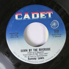 Jazz 45 Ramsey Lewis - Down By The Riverside / One, Two, Three On Cadet