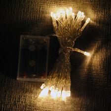 Christmas SALE: Battery Powered LED Fairy Lights 2M 20LEDs /4M 40LED All Colours