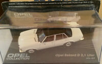 "DIE CAST "" OPEL REKORD D 2,1 LITER 1973 - 1977  "" OPEL COLLECTION SCALA 1/43"