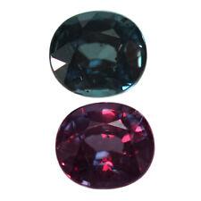 1.10ct Glitters Oval Bluish Green Color Change Garnet.