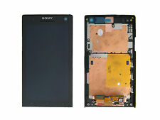 Genuine Sony LT26i Xperia S Black LCD Screen & Digitizer - 1257-2741