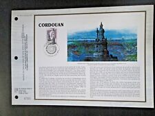 "France - ""LIGHTHOUSE ~ PHARE DE CORDOUAN"" FDI Official Commem. Panel 1984 !"