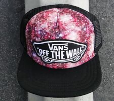 Vans Skateboard Galaxy Pink Unisex Snapback Hat One Size