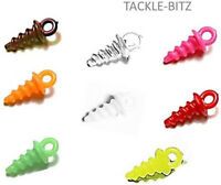 Bait Screws Plastic 8 Colours Carp Fishing Terminal End Tackle Chod Hair Rigs