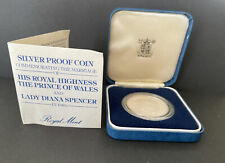 1981 Silver Proof Coin Commerating  The Royal Wedding
