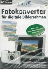 CD-ROM + Fotokonverter für digitale Bilderrahmen + Fotos anpassen + Auflösung