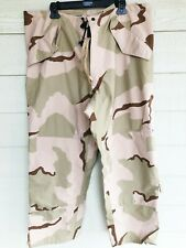 USGI ECWCS GORE-TEX COLD WEATHER DESERT CAMOUFALGE PANTS - LARGE REGULAR #2