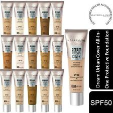 Maybelline Dream Urban Cover All-In-One Protective Foundation, Choose your Shade