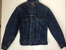 Vintage Levis Big E Type 3 Flannel Lined Trucker Small Jacket 32