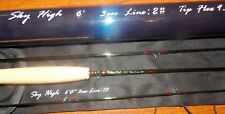 Skyhigh 6'0'' #2WT 3pc Fly Fishing Rod Carbon Fiber Graphite FREE 3 DAY SHIPPING