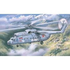 AMODEL 72131 Mi 6 Soviet Helicopter Late Scale Plastic Model Kit