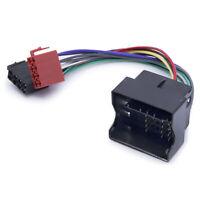 Auto Radio Adapter Kabel Stecker DIN ISO Quadlock Flachpin für BMW Mini Ford