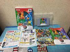 Pokemon Stadium Nintendo 64 Japan NTSC-J N64 boxed set
