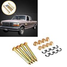4 Pcs Car Truck SUV Door Hinges Pin Bushing Repair Kit Durable Zinc Plated Steel