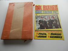 THE BEATLES ORIG 1963 UK  FOLDOUT GIANT POSTER  EXCELLENT  UNOPENED FOR 50 YEARS