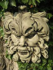 MASCHERA della verità Gargoyle pietra ornamentale da giardino