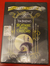 NIGHTMARE BEFORE CHRISTMAS DVD SIGILLATO OLOGRAMMA TONDO