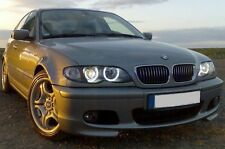 FARI ANGEL EYES CCFL AL NEON BMW SERIE 3 E46 BERLINA/TOURING CROMO O NERI 01-05