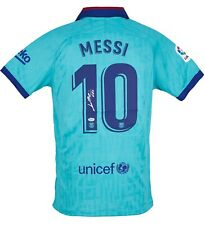 Lionel Messi Autographed Jersey 19-20 Barcelona Signed Nike Shirt Beckett COA
