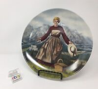 """Edwin Knowles """"The Sound of Music"""" Collector's Plate - 1986 - Nice!"""