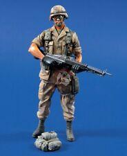 SEALED US Soldier with M60 Operation Desert Storm Verlinden 543 120mm 1/16 Resin