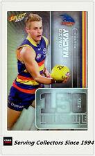 2017 AFL Footy Stars Trading Card Milestones Subset MG3 David Mackay(Adelaide)