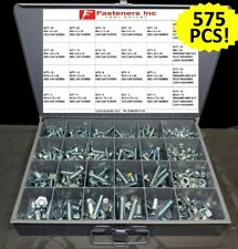 575 Piece Metric Bolt Kit Assortment M6-M12 Zinc Class 10.9 / Hardened Grade