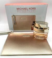 Michael Kors WonderLust 1.7 oz EDP Perfume For Women Gift Set W/ Pouch Sealed