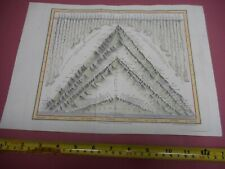 100% ORIGINAL RIVERS AND MOUNTAINS WORLD MAP BY ORR DOWER C1834 VGC HAND COLOUR