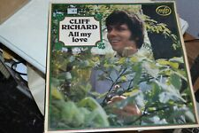 CLIFF RICHARD       ALL MY LOVE   LP    MFP  1420     EMI RECORDS    1965