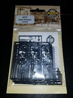 OO Gauge Ratio 453 Swan Necked Lamps model railway kit