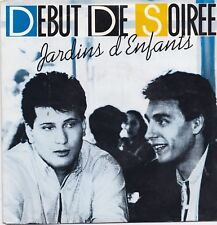 Debut De Soiree-Jardins D Enfants vinyl single