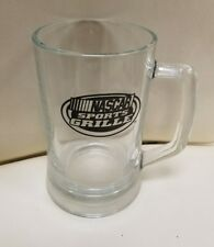 (2) RARE Nascar Sports Grille 22.25 oz Beer mugs Brand New
