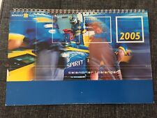 CALENDRIER CALENDAR 2005 RENAULT F1 TEAM - MOTORSPORT ALONZO FORMULE 1