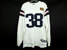 Rare REEBOK SUPERBOWL 38 XXXVIII Patriots 2004 Football NFL Sweater Stitched M
