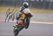 JACK Miller Firmato a Mano 12x8 PHOTO Red Bull KTM AJO MOTO 3, MotoGP 3.