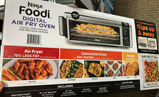 NINJA FOODI SP100 DIGITAL AIR FRYER CONVECTION TOASTER OVEN 1800 WATTS STAINLESS