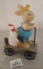 Ganz Joy Ride Bunny Figurine, (Ea13572)