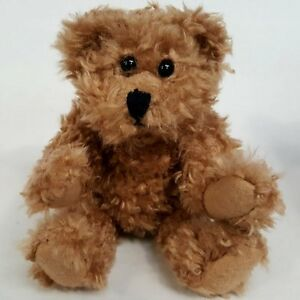 LOVEHEART CHESTER TEDDY BEAR JOINTED BEANIE SOFT TOY