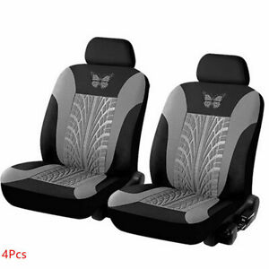 Butterfly Pattern Car Front Seat Cover Cushion Protector Interior Accessories