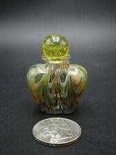 VINTAGE MINIATURE ART GLASS PERFUME BOTTLE