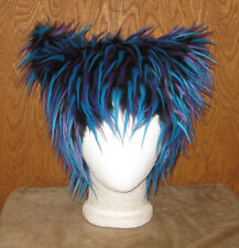 CHESHIRE ELECTRO KITTY CAT FUR EAR HAT ANIME COSPLAY ALICE WONDERLAND FESTIVAL