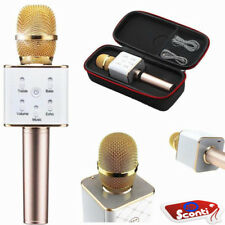 ORO Microfono wireless cassa integrata bluetooth batteria karaoke altoparlante