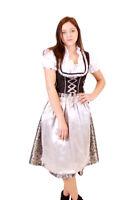 Oktoberfest Volksfest Drindl Bavarian German Beer Girl Green Maid Costume Dress