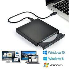 Externe Tragbare CD/DVD Stick Schlank USB 3,0 Re-Writer Brenner Reader RW Stick