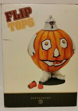 New Department 56 Candy Serving Bowl Container Halloween Monster Ghost Pumpkin